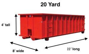 Cardella 20 Yard Dumpster